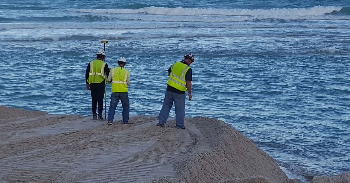Morgan & Eklund Completes Survey as Part of Miami Beach Hotspots Beach Renourishment Project